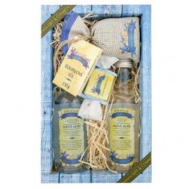 Mŕtve more darčekové balenie Premium - sprchový gél 200 ml, vlasový šampón 200 ml, soľ do kúpeľa 150 g, mydlo 30 g