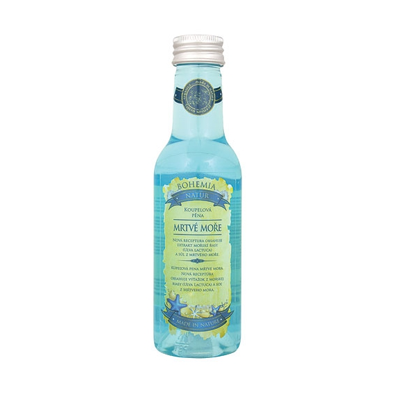 Mrtvé more Premium - pena do kúpeľa 200 ml s extraktom morských rias a soli z Mŕtveho mora