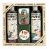 Darčekové balenie Pivrnec - sprchový gél 250 ml, mydlo (pohár), vlasový šampón 250 ml, button