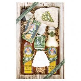 Darčekové balenie Pivrnec - sprchový gél 200 ml, pena do kúpeľa 200 ml, soľ do kúpeľa 150 g, mydlo 30 g