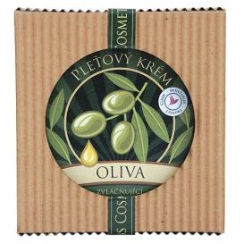 Pleťový zvláčňujúci krém - olivový 200 ml