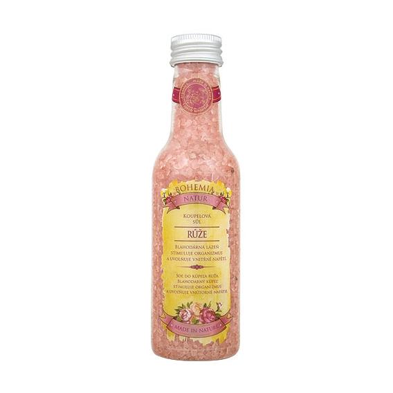 Soľ do kúpeľa 260 g s extraktmi zo šípky a kvetov ruže