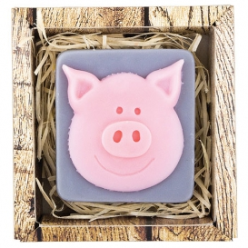 Ručne vyrábané mydlo v krabičke - prasa 90 g