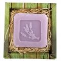 Ručne vyrábané mydlo v krabičke - levanduľa 60 g