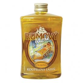 Olejová kúpeľ s vôňou rumu 500 ml