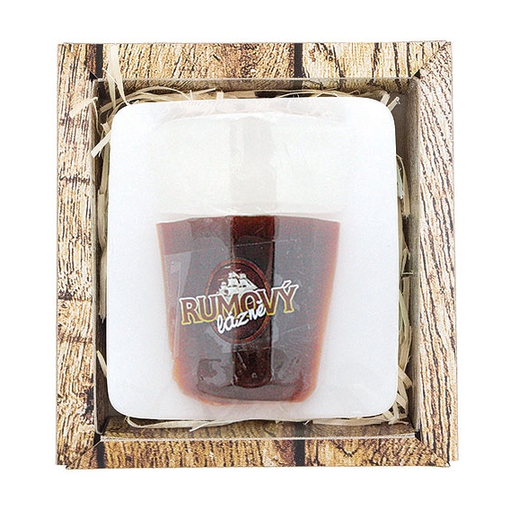 Ručne vyrábané mydlo - RUM 70 g