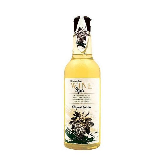 Wine SPA olejový kúpeľ zelený  s hroznovým olejom a extraktom z vínnej révy 500 ml