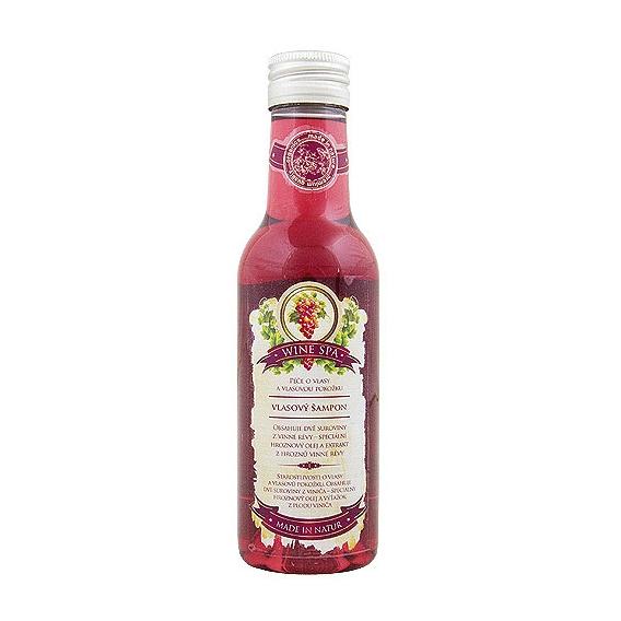 Wine SPA Premium - Vlasový šampón s hroznovým olejom a extraktom z vínnej révy 200 ml