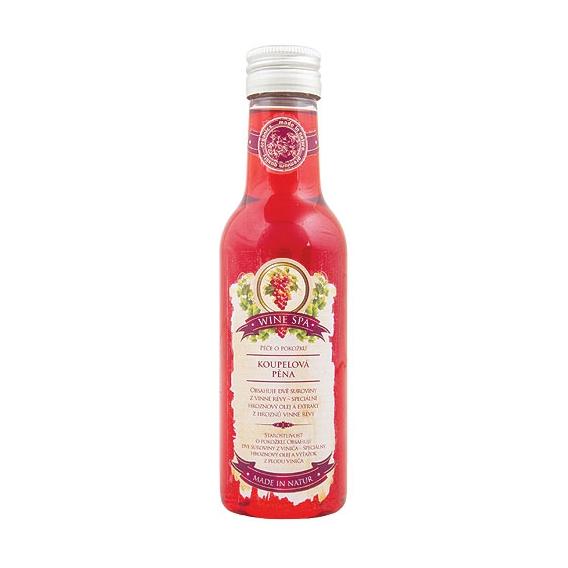 Wine SPA Premium - olejová kúpeľ  červená s hroznovým olejom a extraktom z vínnej révy 200 ml