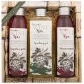 Darčekové balenie Wine Spa - vlasový šampón 200 ml, sprchový gél 250 ml, olejový kúpeľ 200 ml