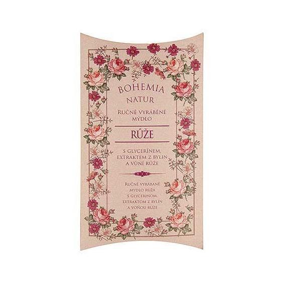 Ručne vyrábané mydlo z vôňou ruže 100 g