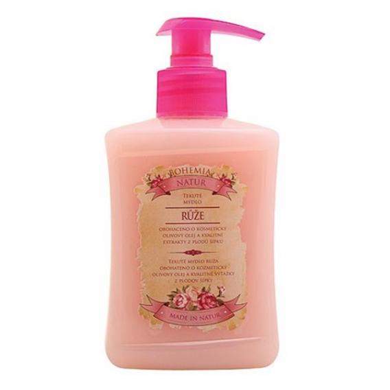 Tekuté mydlo s extraktmi zo šípky a kvetov ruže 300 ml