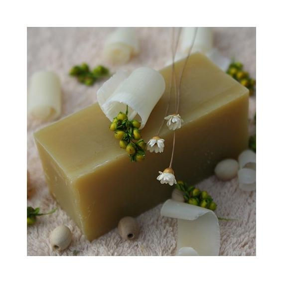 Olivové mydlo Konopný olej s protizápalovými a antibakteriálnymi účinkami, krájané