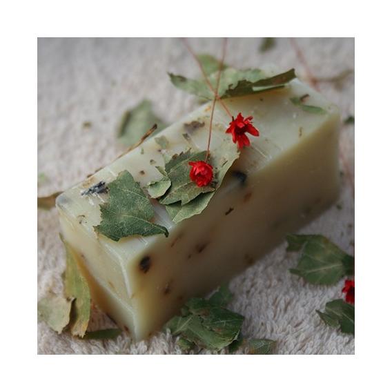 Olivové mydlo Medovka lekárska, krájané