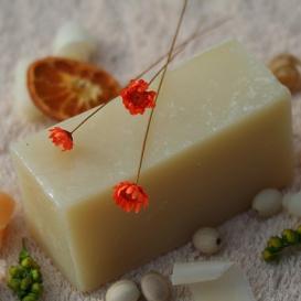 Olivové mydlo Levanduľa, krájané