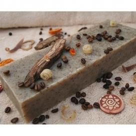Olivové mydlo Káva-peeling na prekrvenie pokožky, 800g