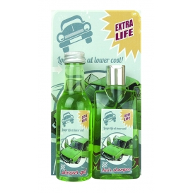 Darčekové balenie Auto - s konopným olejom a obrázkom