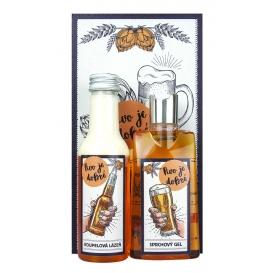 Darčekové balenie kozmetiky s korenistou vôňou a obrázkom