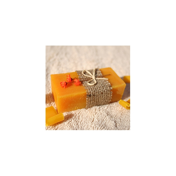 Olivové mydlo Červený palmový olej & Pomaranč na zjemnenie pokožky, dekoračné