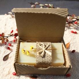 Olivové mydlo Nechtík lekársky v krabičke