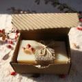 Olivové mydlo Kozie mlieko pre suchú a citlivú pokožku v krabičke