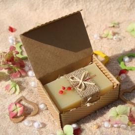 Olivové mydlo Konopný olej v krabičke