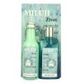 Darčekové balenie MILUJEM ŽIVOT - sprchový gél, olej do kúpeľa a obrázok