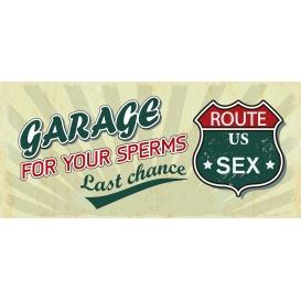 Darčekový kondóm - Garage
