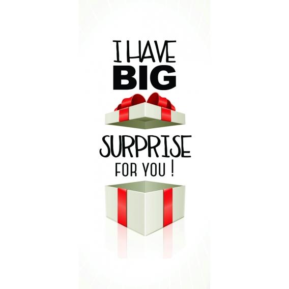 Darčekový kondóm - Big surprise