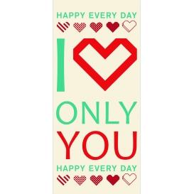 Darčekový kondóm - I love only you