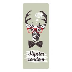 Darčekový kondóm - Hipster condom