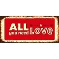 Darčekový kondóm - All you need is love