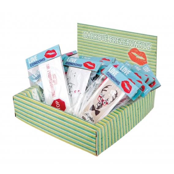 Darčekový kondóm - 1 plus 1 rovná 3