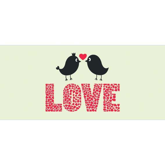 Darčekový kondóm - love - birds