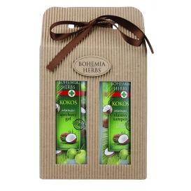 Darčekové balenie Kokos - sprchový gél a vlasový šampón