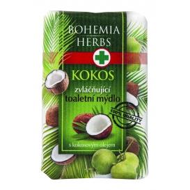 Toaletné mydlo s kokosovým olejom