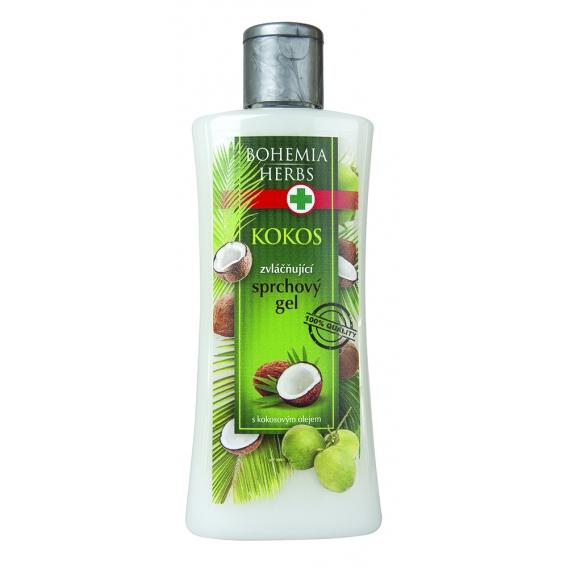 Kozmetika Kokos - sprchový gél 250 ml