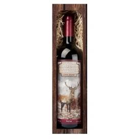 Darčekové víno LOVU ZDAR - červené víno Merlot 750 ml