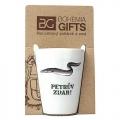 Darčekový porcelánový pohárik pre rybára - úhor