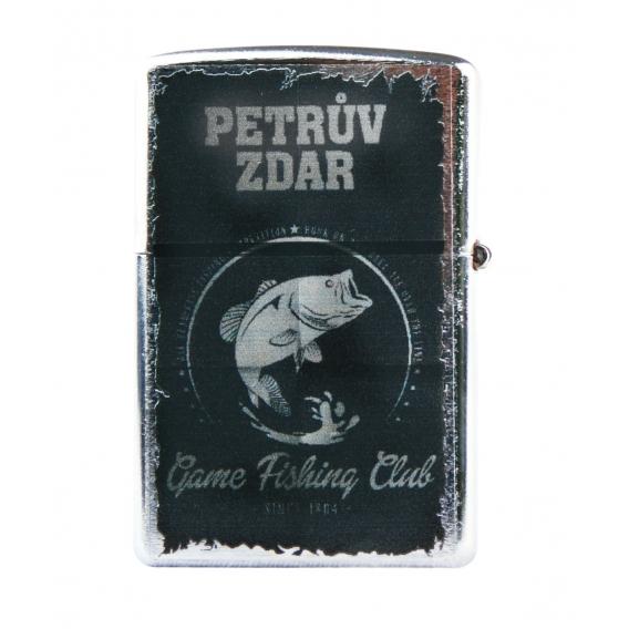 Retro zapaľovač - Petrov zdar