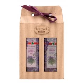 Darčekové balenie Levanduľa - sprchový gél 250 ml, vlasový šampón 250 ml