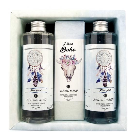 BOHO STYLE kozmetické darčekové balenie s vôňou Rose