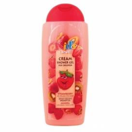 Bohemia Cosmetics - dětský krémový sprchový gel 300 ml - jahoda