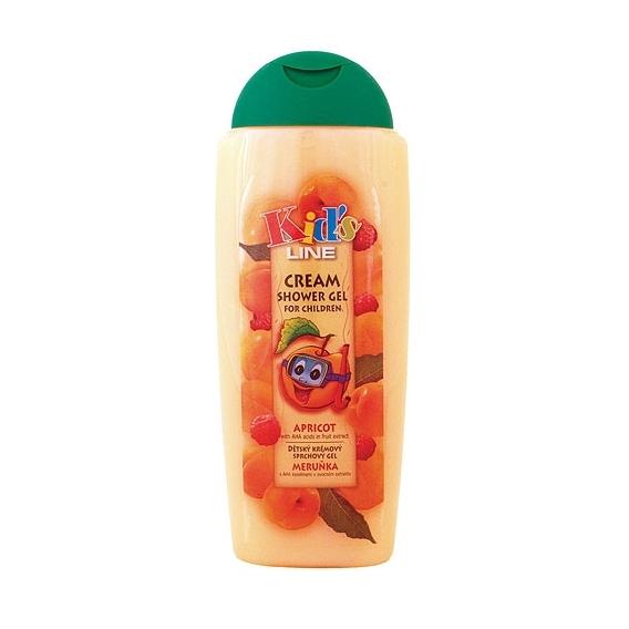 Bohemia Cosmetics - dětský krémový sprchový gel 300 ml - meruňka