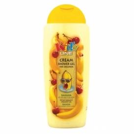 Bohemia Kozmetika - detský krém, sprchový gél 300 ml - banán