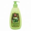 Bohemia Cosmetics - krémové tekuté mýdlo s pumpičkou 500 ml - oliva