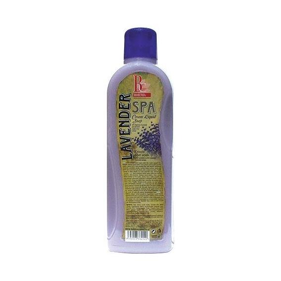 Bohemia Cosmetics - krémové tekuté mýdlo 1000 ml - náhradní náplň - levandule