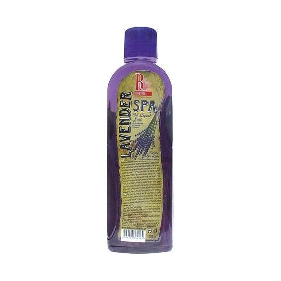 Bohemia Kozmetika - oil tekuté mydlo 1000 ml - náplň - levanduľa