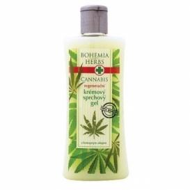 Bohemia Herbs - cannabis - konopný krémový sprchový gel 250 ml
