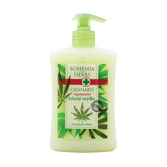 Bohemia Herbs - cannabis - konopné krémové tekuté mýdlo 500 ml